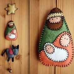 Muito bonito este artesanato de Natal.  Conheça o site que está intermediando sonhos no Natal: www.cartinhaaopapainoel.com.br