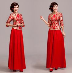 Red/Gold QiPao