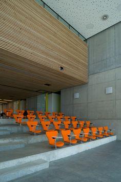 VOLA Academy, Horsens, Denmark // Aarhus Arkitekterne // Photo: Thomas Holm Frandsen