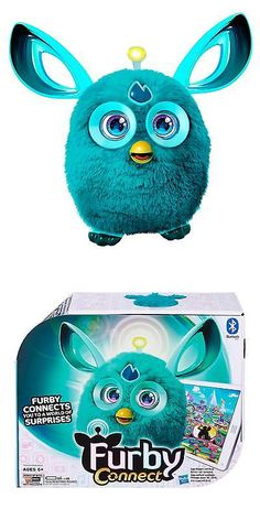 Furby 1083: Furby Connect (Teal) -> BUY IT NOW ONLY: $51.99 on eBay!
