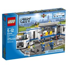 Compare prices on Lego City Set Mobile Police Unit from top toy and collectibles retailers. Save money and find great deals on new and used LEGO sets. Lego City Police, Police Truck, Police Dogs, Police Station, Toys R Us, Legos, Cheap Lego, Lego Building Sets, Lego Christmas