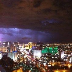 Light up the night - Las Vegas