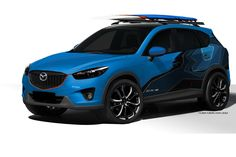 Mazda Brings 3 Concept Versions of CX-5 Crossover to SEMA Including a Diesel Variant