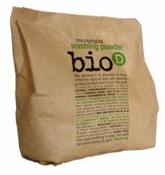 Bio-D Οικολογική Βιοδιασπώμενη Απορρυπαντική Σκόνη για Ρούχα 1KG