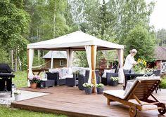 kuva Outdoor Furniture Sets, Outdoor Decor, Patio, Garden, House, Iso, Home Decor, Summer, Ideas
