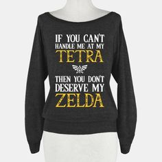 If You Can't Handle Me At My Tetra Then You Don't Deserve My Zelda | HUMAN
