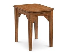 Magnolia Home Farmhouse Chairside End Table Furniture Making, Home Furniture, Farmhouse End Tables, Chair Side Table, Magnolia Homes, Stool, Design Inspiration, Dining, Living Room