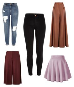 """""""Capsule - bottoms"""" by geetika-bhatnagar on Polyvore featuring River Island, Zimmermann and Marella"""