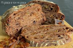 Pane al Cioccolato e Uvetta a Lievitazione Naturale
