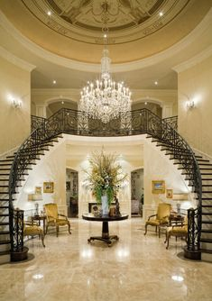 Luxury Entry ~Wealth and Luxury ~Grand Mansions, Castles, Dream Homes Luxury homes