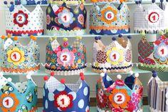Coronas infantiles hechas a mano. Chipetas.com
