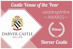 We are just overwhelmed with the good wishes Darver Castle has received from everyone on our recent Castle Venue of the Year Ireland Award. We are so grateful🙏 and just want to say a big thank you to everyone who helped make it happen.