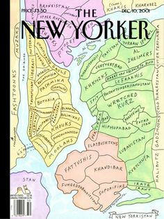 New Yorkistan by Rick Meyerowitz and Maira Kalman. Hilarioustan!