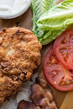 Spicy & Crispy Chicken Caesar Club