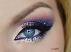 Makeup Geek Eyeshadows in Confection, Corrupt, Cupcake, Fairytale, and Motown + Makeup Geek Duochrome Eyeshadows in I'm Peachless and Phantom + Makeup Geek Foiled Eyeshadow in Masquerade. Look by: Aniqua Makeup