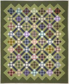 Nine Patch: Very Varied Values by Lynn Roddy Brown, a 100 Blocks designer: lynnroddybrown.com