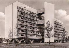 Niemeyerhaus, Berlin, Germany (1957) Architect: Oscar Niemeyer