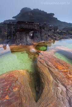 Monte Roraima - Venezuela, Brasil e Guiana