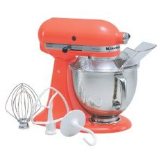 1000 images about salmon colors on pinterest salmon coral and peaches - Flamingo pink kitchenaid mixer ...