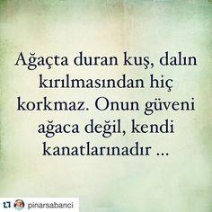 #Repost @pinarsabanci with @repostapp. ・・・ Kendinize Güvenin ❣✌ Sevgili Pınar'ın bu paylaşımına bayıldım, ihtiyacımız olan ve yapmamız gereken tam da bu.
