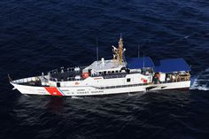 """""""USCGC ROBERT YERED"""" (WPC-1104) is a (154') Sentinel Class, Fast Response Cutter - Commissioned: 15 February 2013 - Crew: 2 Officers, 20 Enlisted - Home Port, Miami, Florida - Armament: 1 × 25mm Mk 38 Mod 2 Automatic Gun, 4 x .50 cal Browning M2 Machine Guns and Various Small Arms- Still in Active Service, as of 2016"""