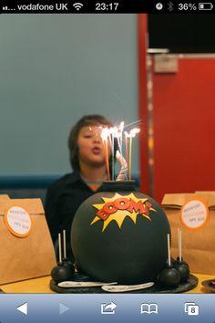 Bomb cake