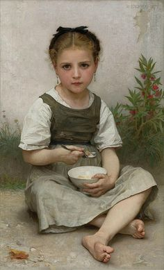 Bouguereau 'Breakfast in the Morning' 1887 | Flickr - Photo Sharing!