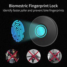 Fingerprint Biometric Keyless Lock Wooden Diy, Wooden Boxes, Diy Lock, Fingerprint Technology, Proximity Card, Keyless Locks, Secret Hiding Places, Smart Door Locks, Reset Button