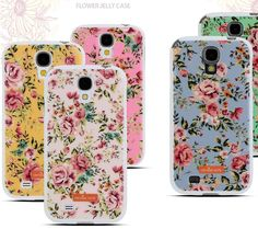 Orange Note Flower Jelly Case 1