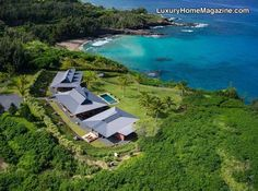 Oceanfront estate perched on a private peninsula overlooking the clear blue waters of Honolua Bay! View more at http://bit.ly/1IpJYc3