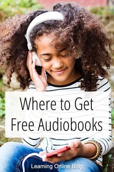 Find out where you can get a wide variety of free audiobooks for your homeschool. Free Books, Good Books, Audio Books For Kids, Best Audiobooks, Good Readers, Online Blog, Learn To Read, Book Activities, How To Get