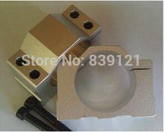 52mm diameter cast aluminium bracket for CNC engraving 400w 300w spindle