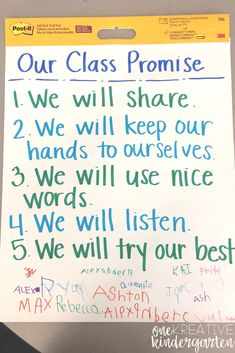 6 Ways to Create a Caring Classroom – Classroom discipline Classroom discipline, Classroom expectations, School classroom, Kindergarten teachers, Kindergarten first Kindergarten First Day, First Grade Classroom, Kindergarten Teachers, Elementary Classroom Rules, Kindergarten Routines, Preschool First Day, Classroom Rules Poster, First Day Of School Activities, Classroom Discipline