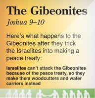 The Gibeonites