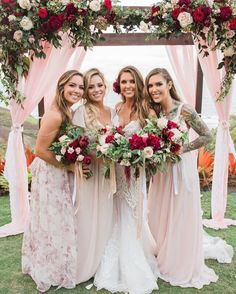 Love Audrina Patridge's bridesmaids' gorgous dresses? Now you can get the celebrity wedding look for less � shop beautiful bridesmaid dresses by top bridal designers for under $100 at Vow to be Chic.