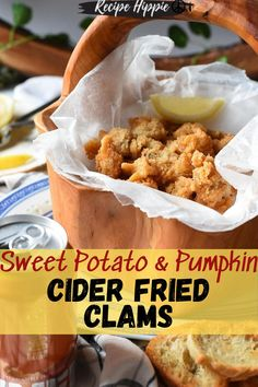 Crispy Sweet Potato, Sweet Potato Soup, Clam Recipes, Pumpkin Recipes, Fish Recipes, Best Football Food, Fall Football, Fall Appetizers, Appetizer Ideas