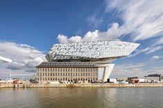 Antwerp Port House by Zaha Hadid   Industrial buildings
