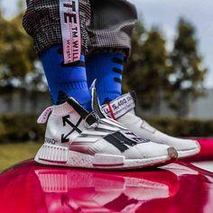 Offwhite on da feet #nmd#custom