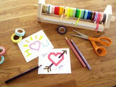 do-diy:  (via Washi Tape Valentines in Templates and design...