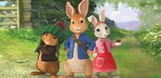 join peter rabbit and friends on a great raid