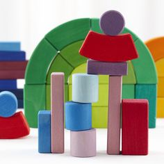 The Big Box of Colorful Wooden Blocks   The Land of Nod