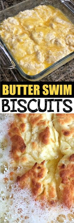 Butter Swim Biscuits (quick and easy!) Quick, simple and easy homemade biscuits recipe! It takes just a handful of ingredients to make these delicious butter swim biscuits-- easier than drop biscuits! They are the BEST addition to break Buttery Biscuits, Drop Biscuits, Easy Biscuits, Cheese Biscuits, Mayonaise Biscuits, Oatmeal Biscuits, Cinnamon Biscuits, Fluffy Biscuits, Buttermilk Biscuits
