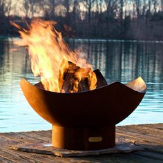 """Fire Pit Manta Ray (0.25"""" mild carbon steel; 36"""" in diameter and 24 inches high...covet!"""