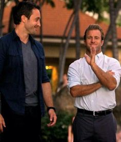 SCOTT CAAN / ALEX O'LOUGHLIN