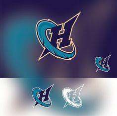 Logo design for the Charlotte Hornets Contest by DORARPOL*