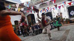 Fiestas patrias en Santiago