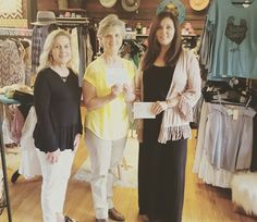 Kendra Scott Gives Back Trunk Show by Alibi Boutique & Be Beautiful Boutique... $300 raised for the LaVernia Vernia Food Pantry!
