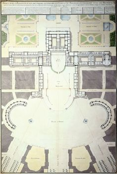 Versailles, Palace of Plan for expansion the Palace 1780 Chateau Versailles, Palace Of Versailles, Louis Xiv, Castle Floor Plan, Paris Eiffel Tower, Eiffel Towers, Montmartre Paris, Paris Paris, Mariage