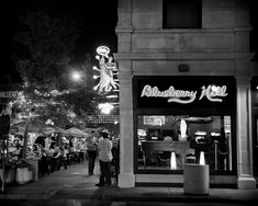Blueberry Hill in St Louis  Fine Art Photograph by visualjourneys, $15.00