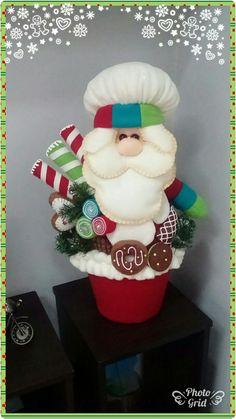 70 ideas for cupcakes decoration navidad natal Mary Christmas, Polymer Clay Christmas, Christmas Wood, Christmas Time, Christmas Crafts, Christmas Ornaments, Christmas Ideas, Fun Cupcakes, Birthday Cupcakes